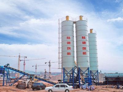 陆德WCBD300系列稳定土厂拌设备