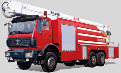 徐工JP25B举高喷射消防车
