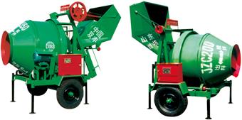 双丰JZC200/ZC350型混凝土搅拌机高清图 - 外观