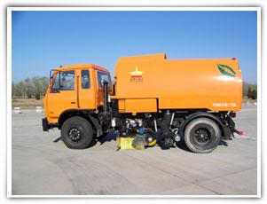 扫地王TSW5151TSL大型扫路车高清图 - 外观