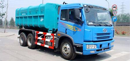 亚洁BQJ5221ZXX型车厢可卸式垃圾车