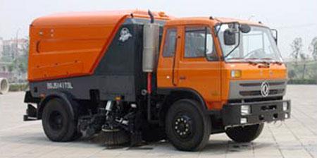 亚洁BQJ5141TSL型扫路车高清图 - 外观