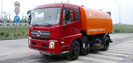 亚洁BQJ5140TSLD型扫路车高清图 - 外观
