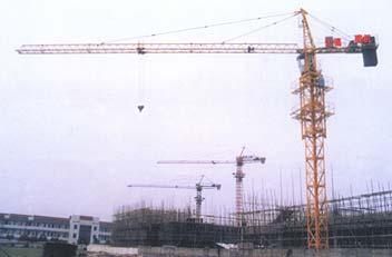 惠山QTZ25C塔式起重机高清图 - 外观