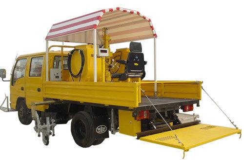 山推格林MQ20型车载高压无气冷喷划线机