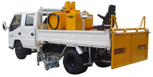 山推格林MQ16型车载冷喷高压无气划线机