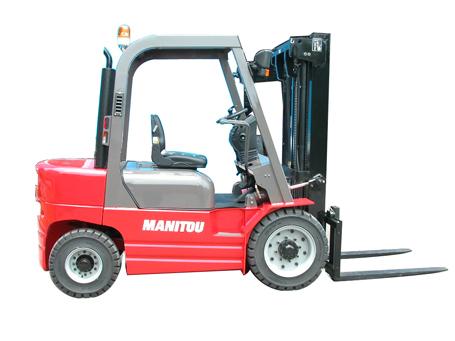 曼尼通1.5T/1.8T内燃平衡重式叉车高清图 - 外观