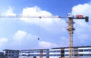 惠山QT25塔式起重机高清图 - 外观
