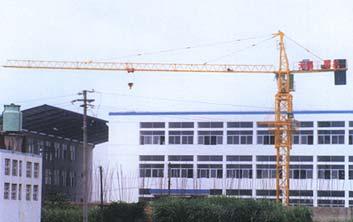 惠山QTZ30B塔式起重机高清图 - 外观
