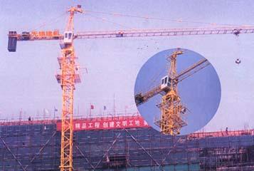 惠山QTZ40B塔式起重机高清图 - 外观