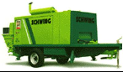 施维英BP3500HDR移动式混凝土泵
