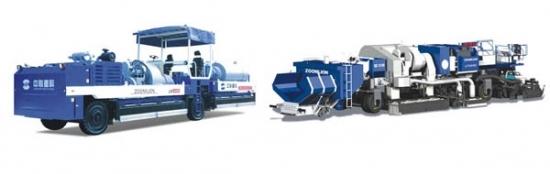 中聯重科LZ4500瀝青路面就地熱再生成套設備