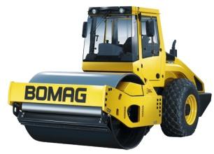 宝马格4系列单钢轮压路机(10吨-15吨)高清图 - 外观