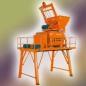 北山JS1000双卧轴强制式混凝土搅拌机高清图 - 外观