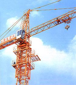 聚龙QTZ系列塔式起重机高清图 - 外观
