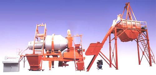 创一QLB系列移动强制式沥青拌和机