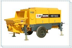 贝司特HBT60C拖式混凝土泵高清图 - 外观
