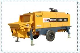 贝司特HBT110拖式混凝土泵高清图 - 外观