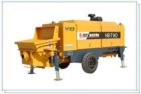 贝司特HBT90拖式混凝土泵高清图 - 外观