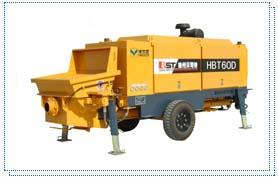 贝司特HBT60D拖式混凝土泵高清图 - 外观
