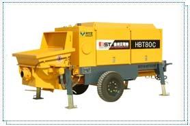 贝司特HBT80C拖式混凝土泵
