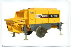 贝司特HBT60E拖式混凝土泵高清图 - 外观