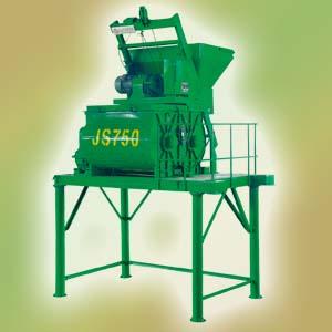 北山JS750双卧轴强制式混凝土搅拌机高清图 - 外观