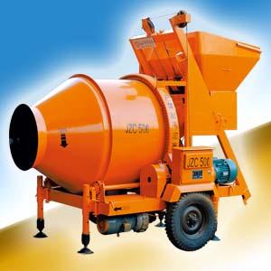 北山JZC500B混凝土搅拌机高清图 - 外观
