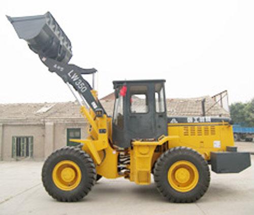 朝工LW350高卸型轮式装载机高清图 - 外观