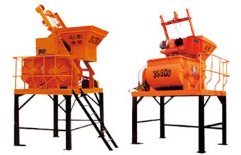双丰JS500/750/1000型混凝土搅拌机高清图 - 外观